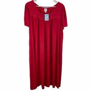Miss Elaine Essentials Womens Nightgown Nightie